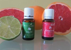 Grapefruit und Limette