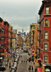Chinatown in New York