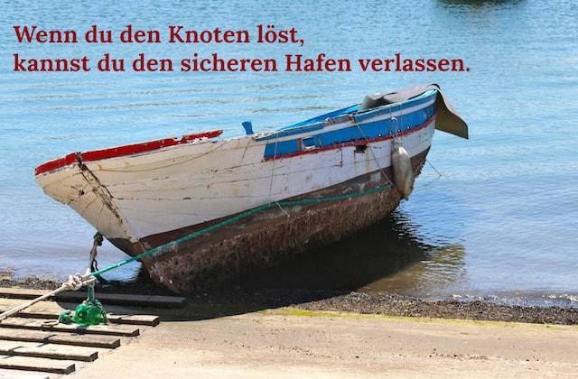Boot Auslaufen Hafen Meer