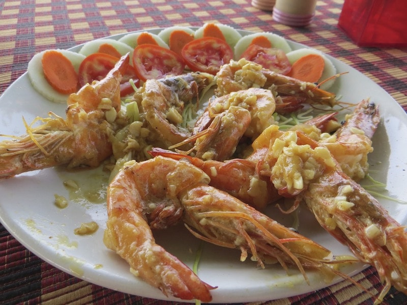 Shrimps Knoblauch Goa benaulim
