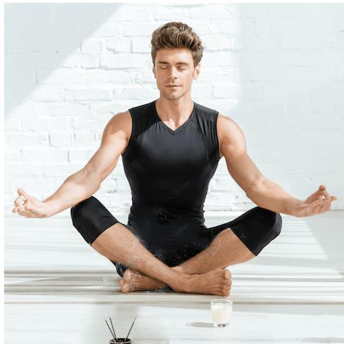 Meditation Mann Yoga
